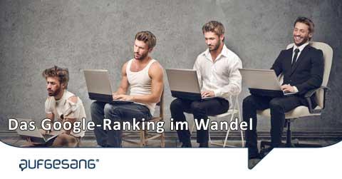 Google-Ranking-Wandel