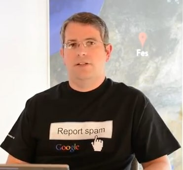 Matt Cutts Head of Spam Team bei Google.