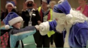 campagne de Noël WestJet
