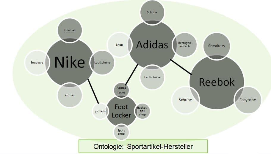 Les entités au sein d'une ontologie