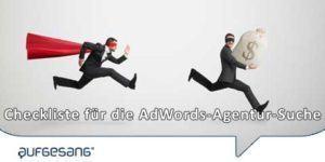 AdWords-Agentur-Suche