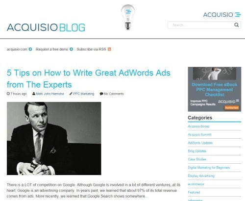 Acquisio Blog