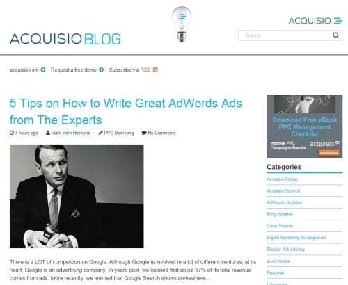 Acquisio Blog