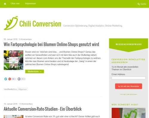 Chili Conversion