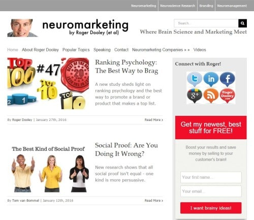 Neuromarketing Blog