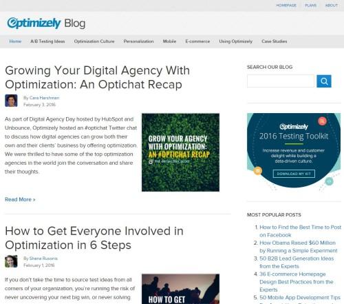 Optimizely Blog
