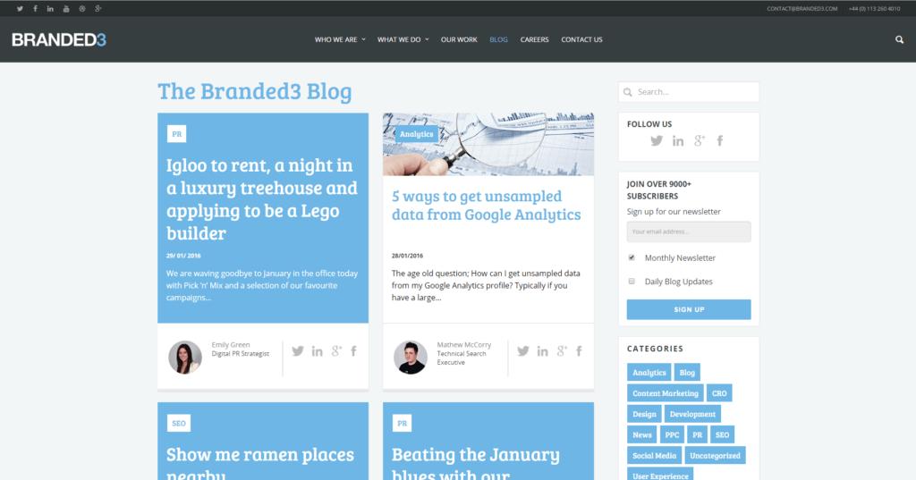 Screenshot Branded3 Blog