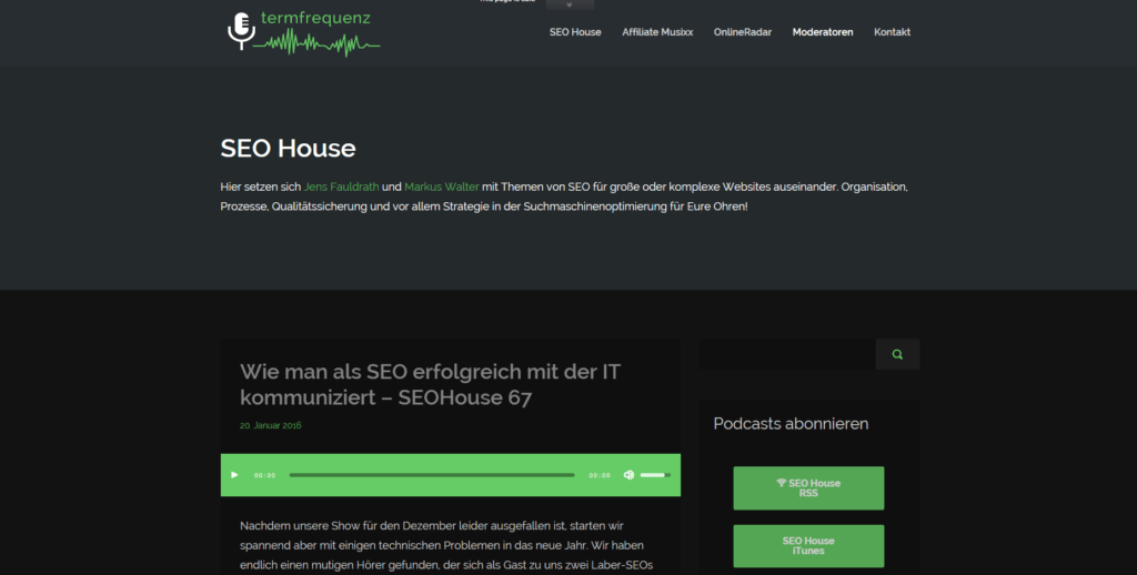 Screenshot termfrequenz Blog