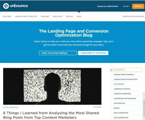 unbounce-Blog