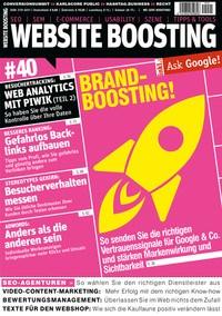 Website Boosting Ausgabe 40 Cover